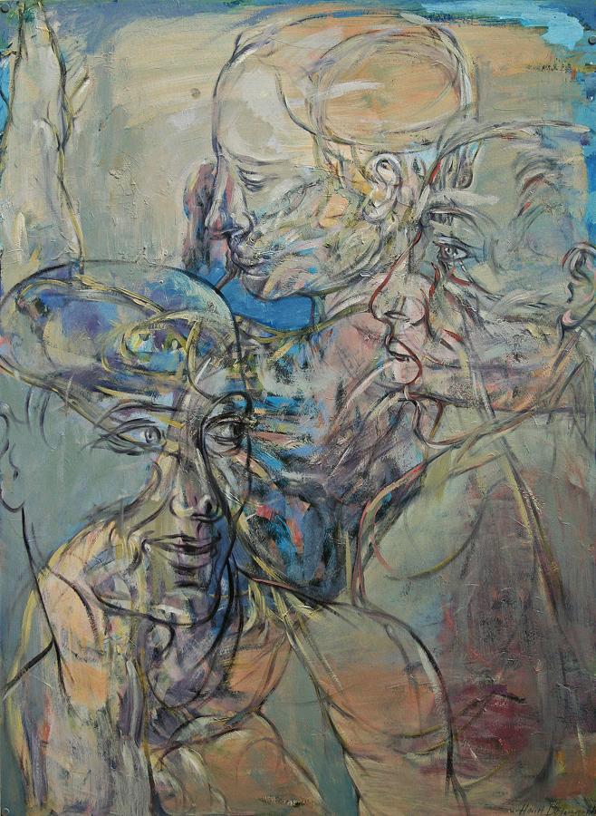 Das Bild von Henri Deparade unter dem Titel Gier I