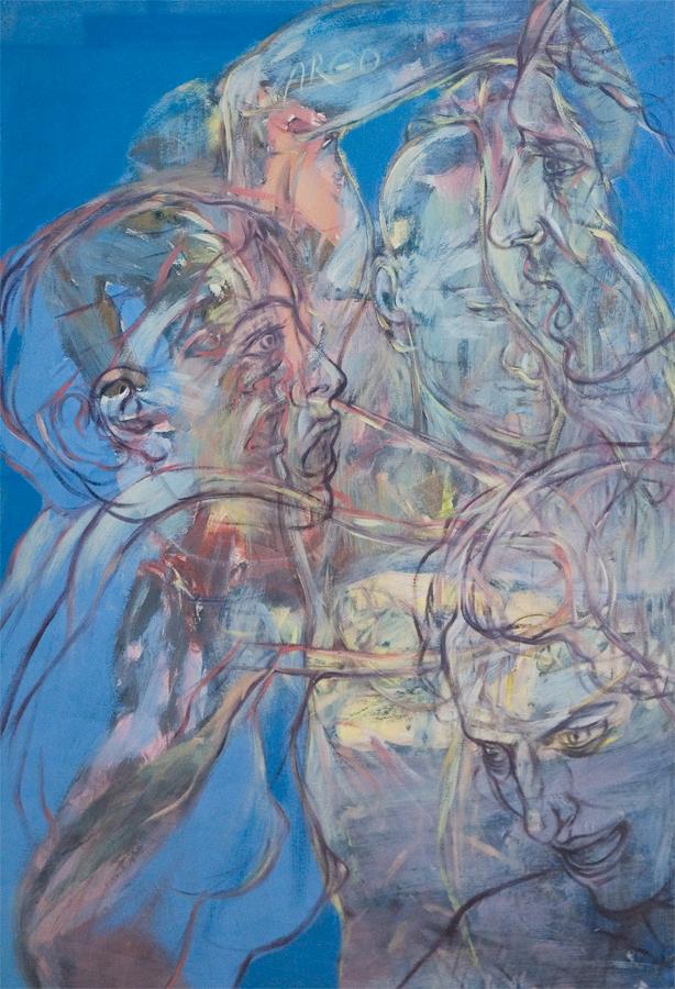 Das Bild von Henri Deparade unter dem Titel Aufbruch der Argonauten