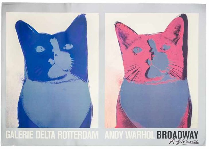 Andy Warhol, Broadway Cats, 1984, Offset Colorprint, 39 x 26,8 inches